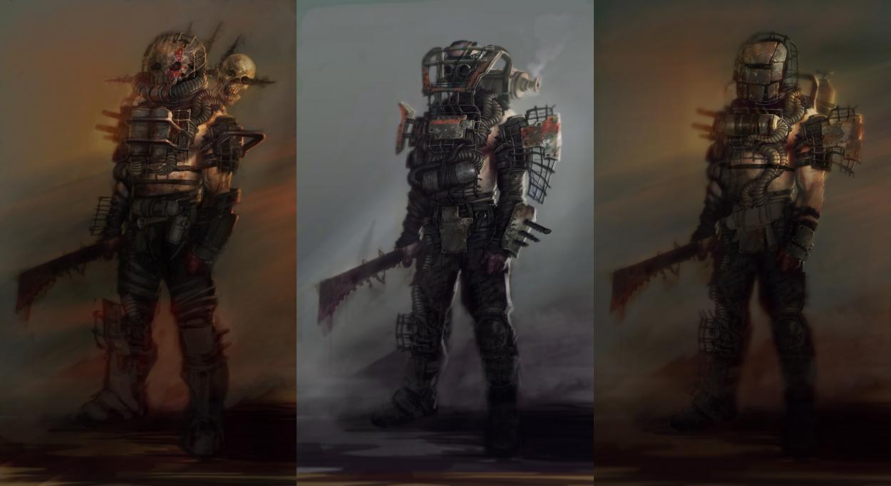 Fallout 4 concept art picture персонажи