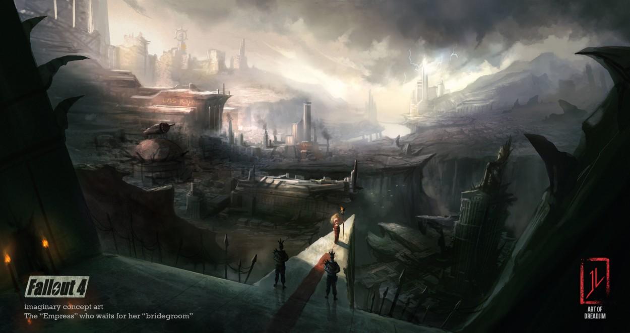 Fallout 4 concept art picture храм