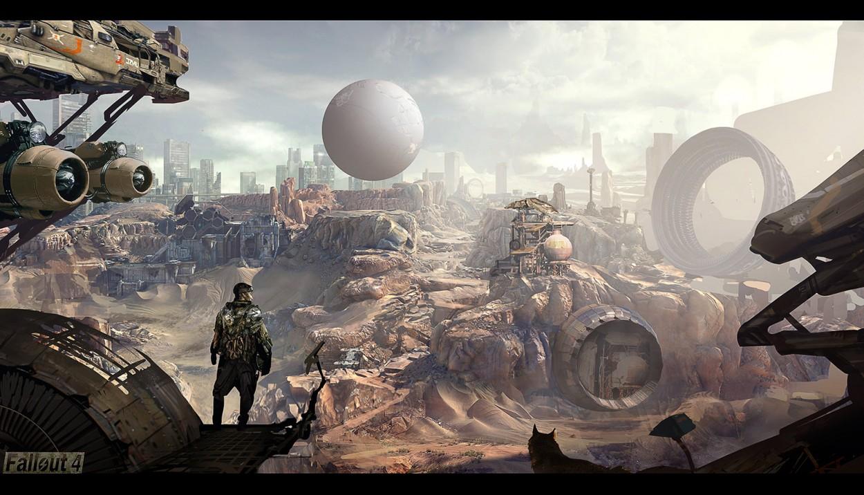 Fallout 4 concept art picture новый арт