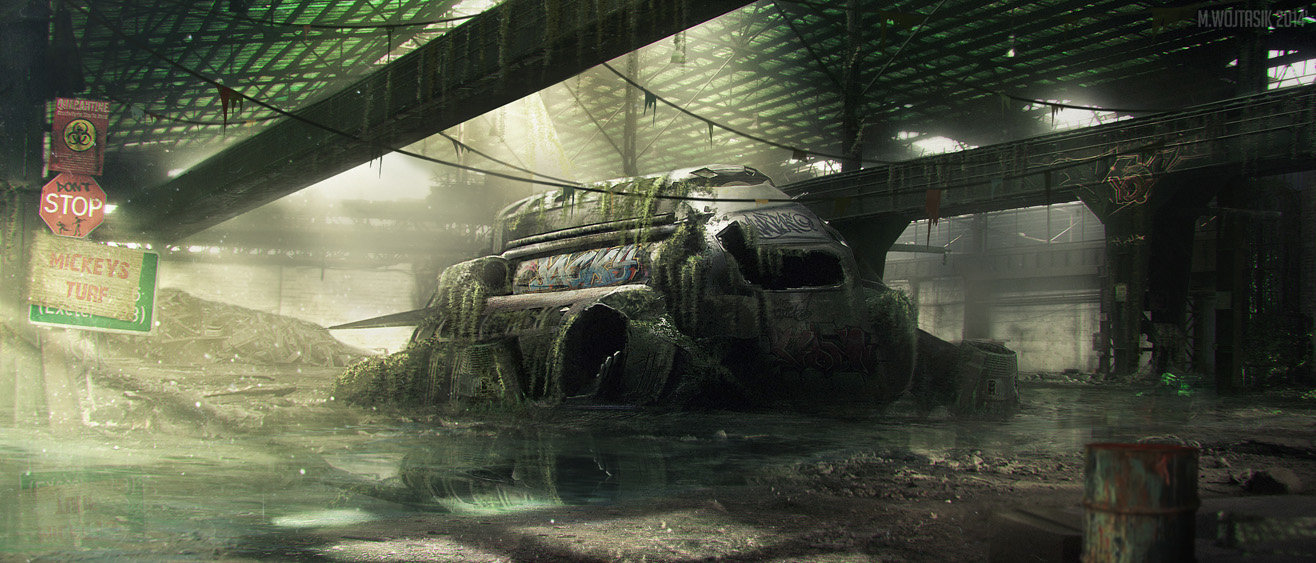Fallout 4 concept art picture города