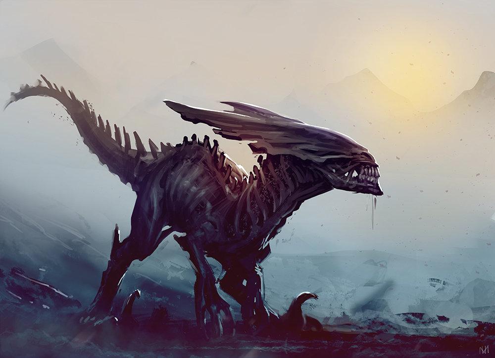 alien-Xenomorph-raptor