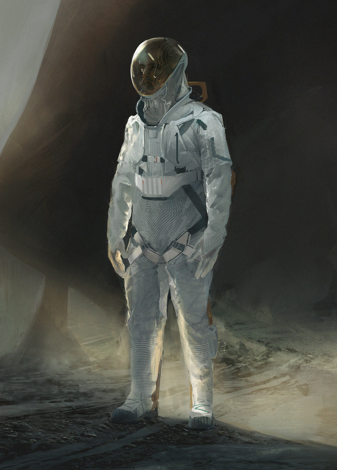 Постер Spacesuit, Saiful Haque original
