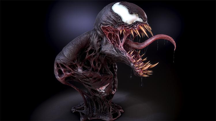 Venom-art-3d-model