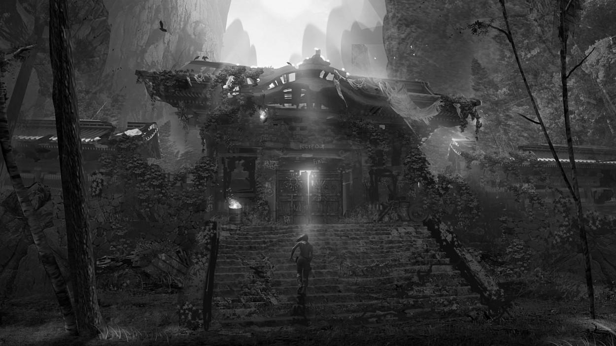 Tomb Raider Concept Art — Lara Croft артбук, подборка артов