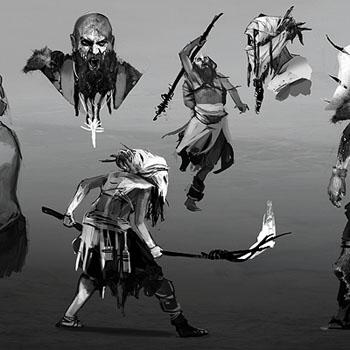 Tomb Raider, concept art создание игры