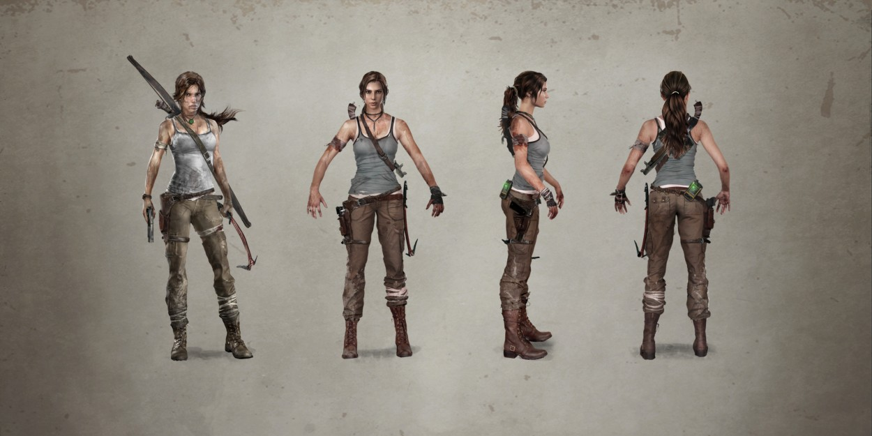 Tomb Raider Concept Art — Lara Croft скин