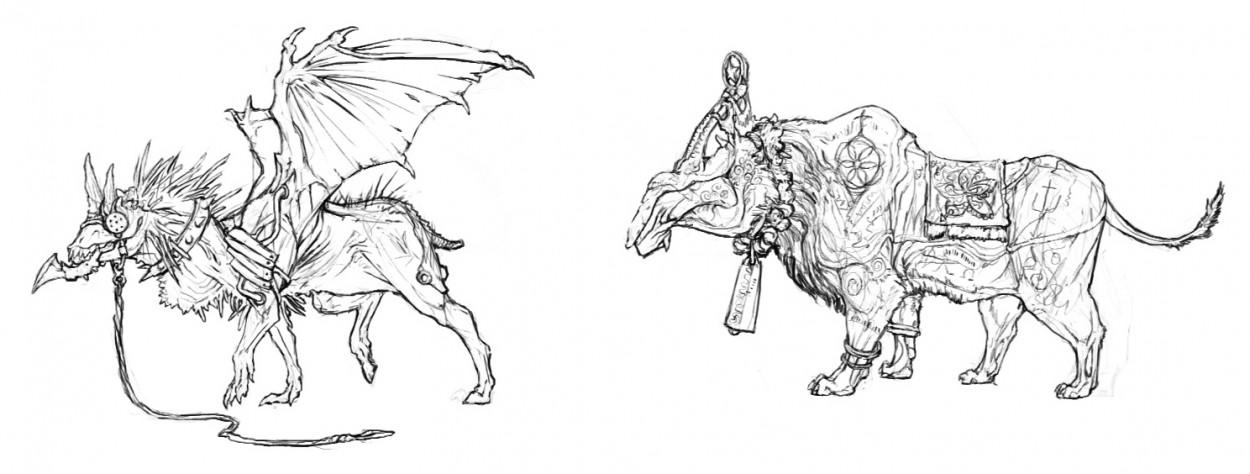 Создание мифических существ