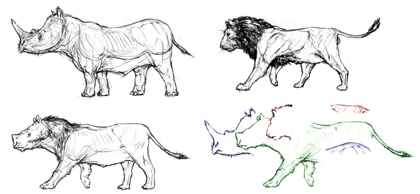 Создание существа с помощью гибридизации