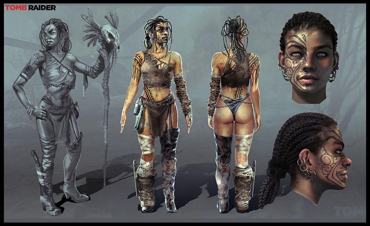 Tomb Raider Concept Art — Lara Croft Tomb_Raider-Arman_Akopian_05b