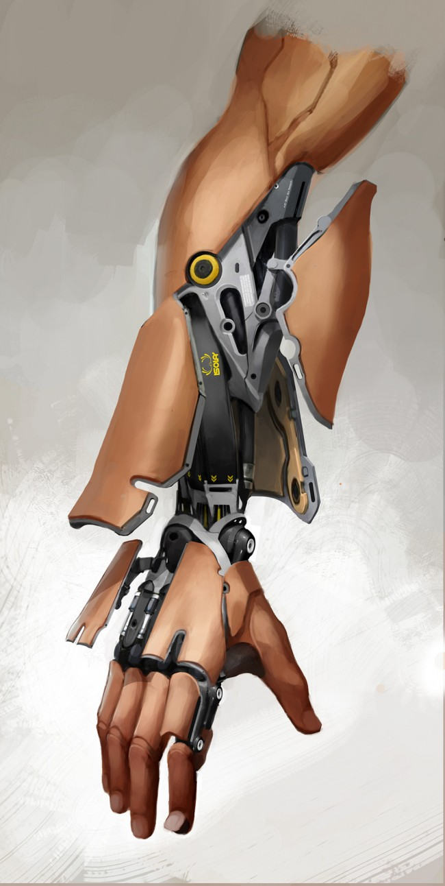 Deus Ex: Mankind Divided кибер протез руки