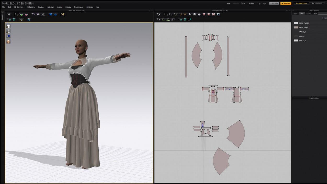 3D модель девушки Wojtek Fus