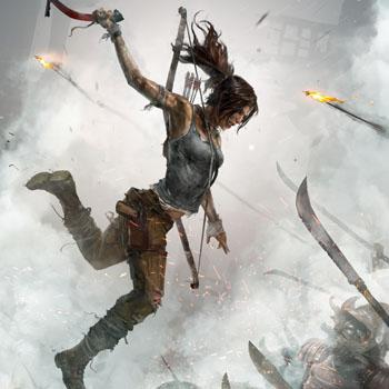 Tomb Raider, promo art создание игры