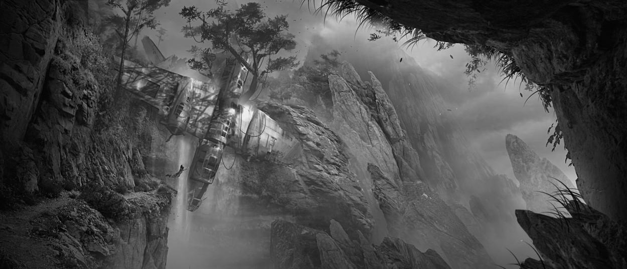 Tomb Raider promo concept art локации 2