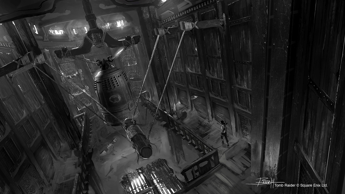 Tomb Raider promo concept art уровень