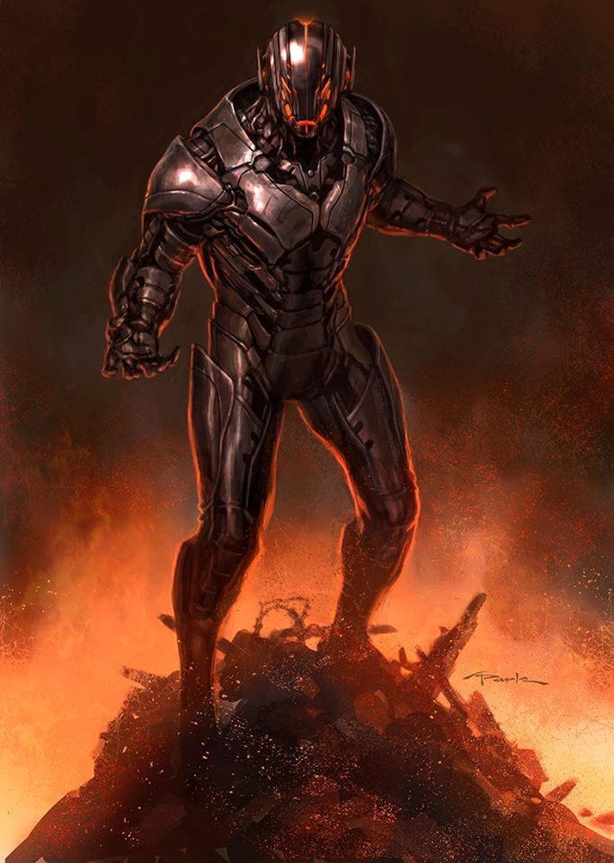 Avengers art ultron_11665525_714176825372377_9098303