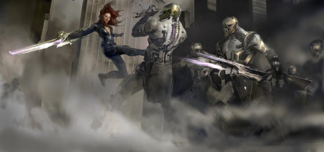 Avengers art НАТАША
