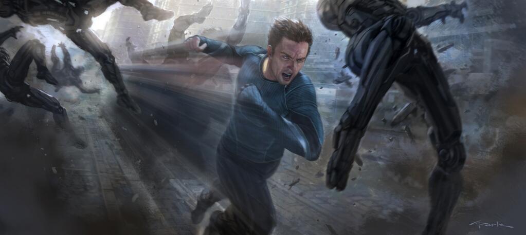 Avengers art  avengers-2-quicksilver-concept-art