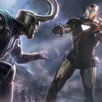 Avengers art, promo art создание игры