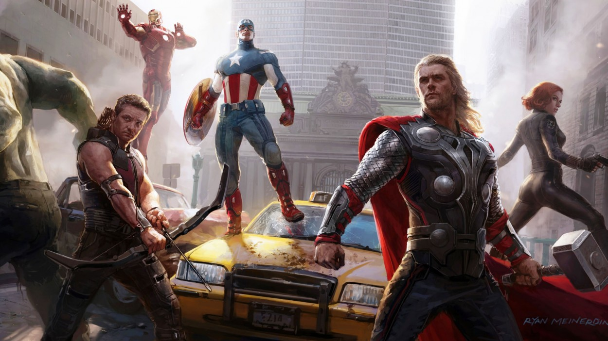 the_avengers_concept_art-Avengers art подборка арта