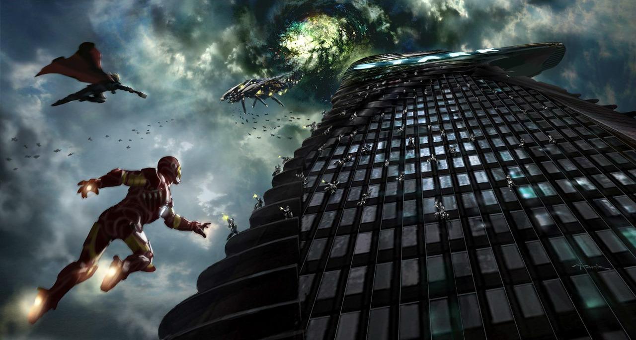 Avengers art  вторжение
