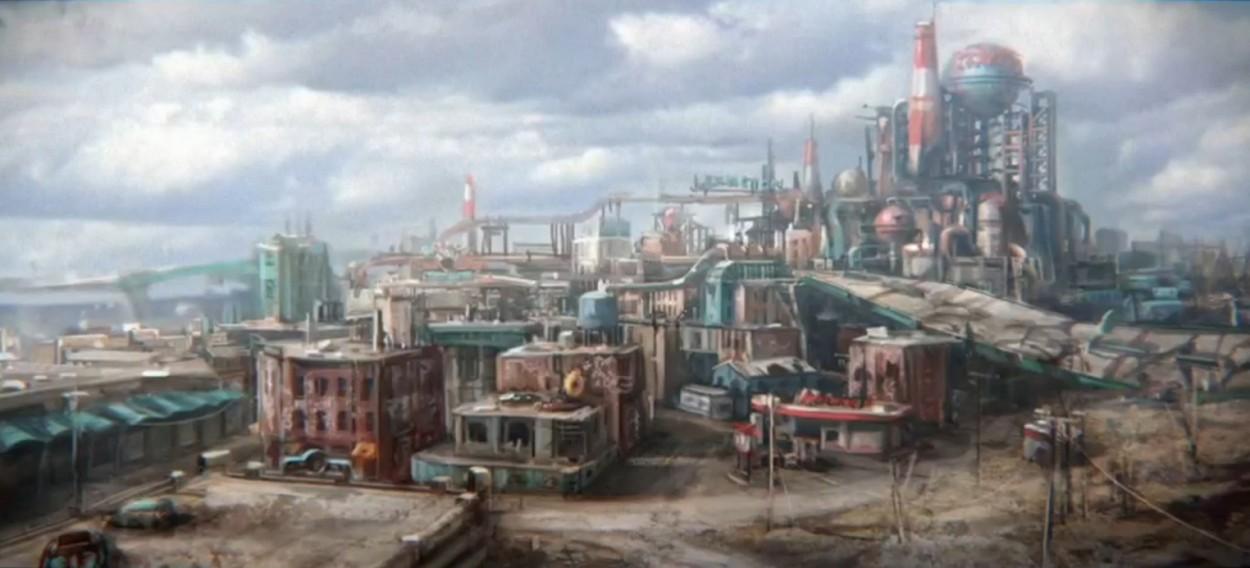 Fallout 4 art city