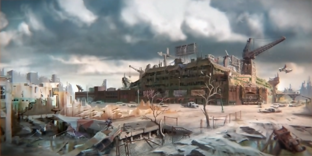 Fallout 4 art_Diamond_city_Concept