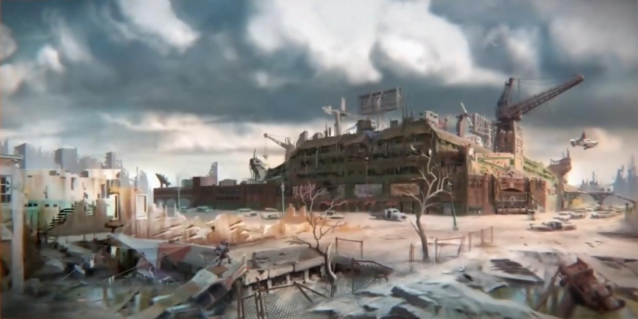 Fallout 4 art_Diamond_city_Concept