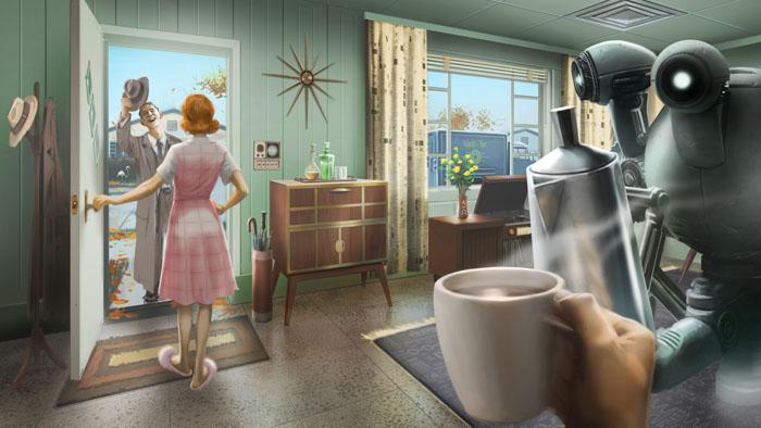 Fallout 4 art обложка