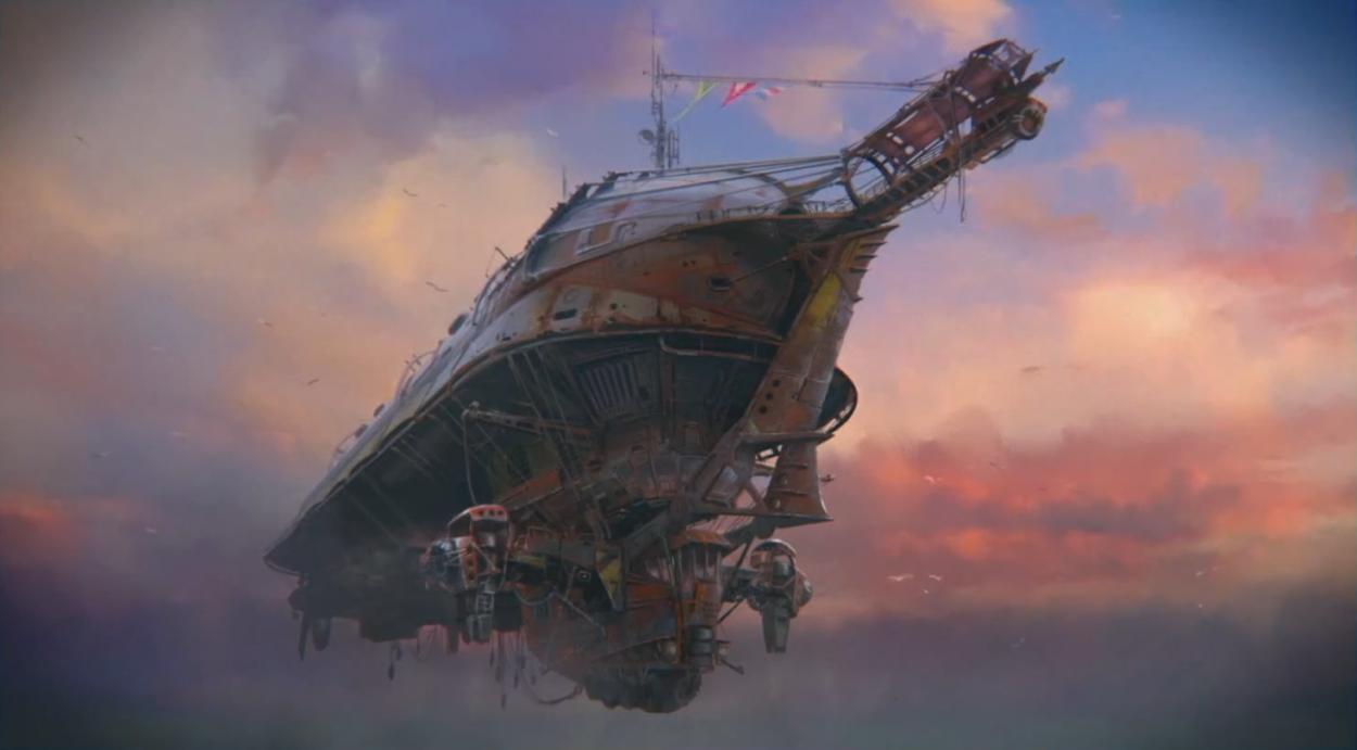 Fallout 4_Prydwen_concept_art