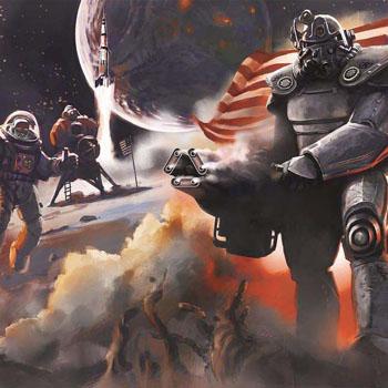 Fallout 4 art, promo art подборка артов