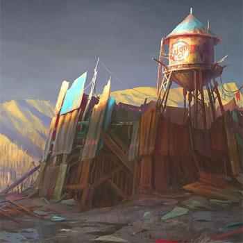 Fallout 4 art, promo art создание игры